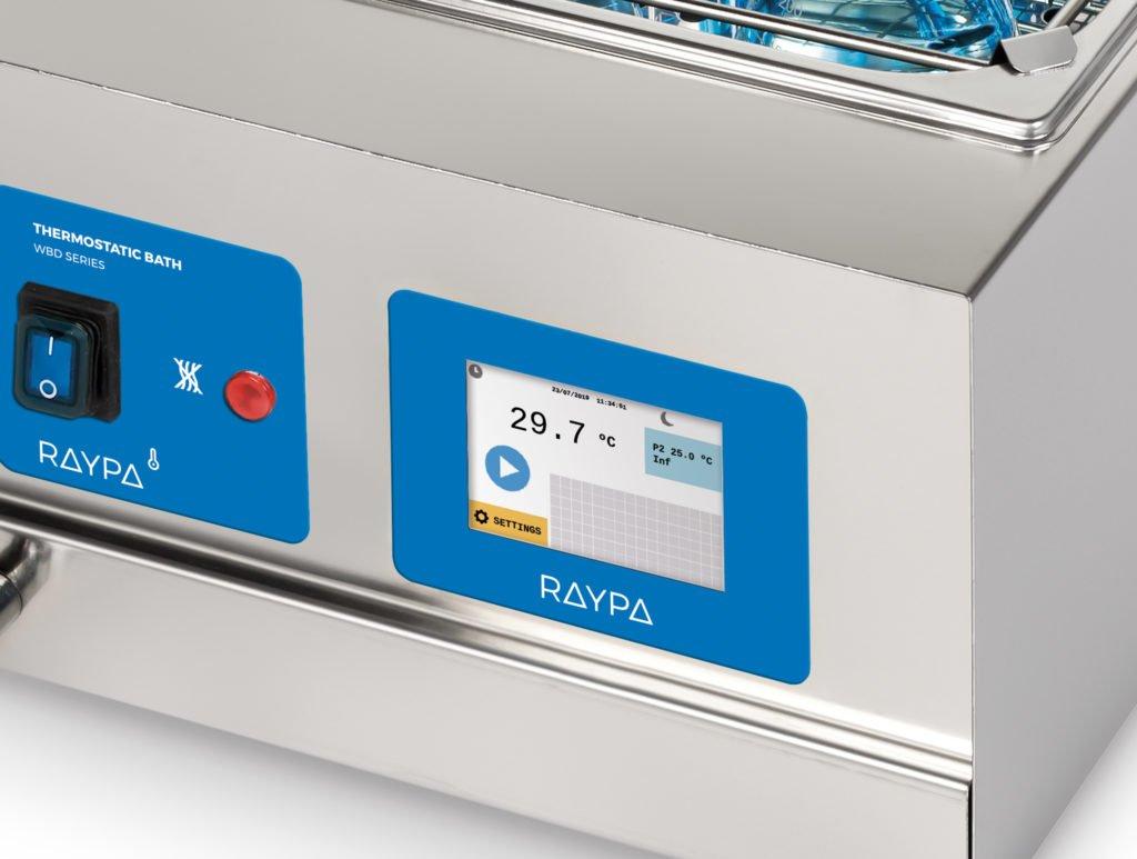 Nuevo microprocesador para los baños termostáticos de la Serie WBD