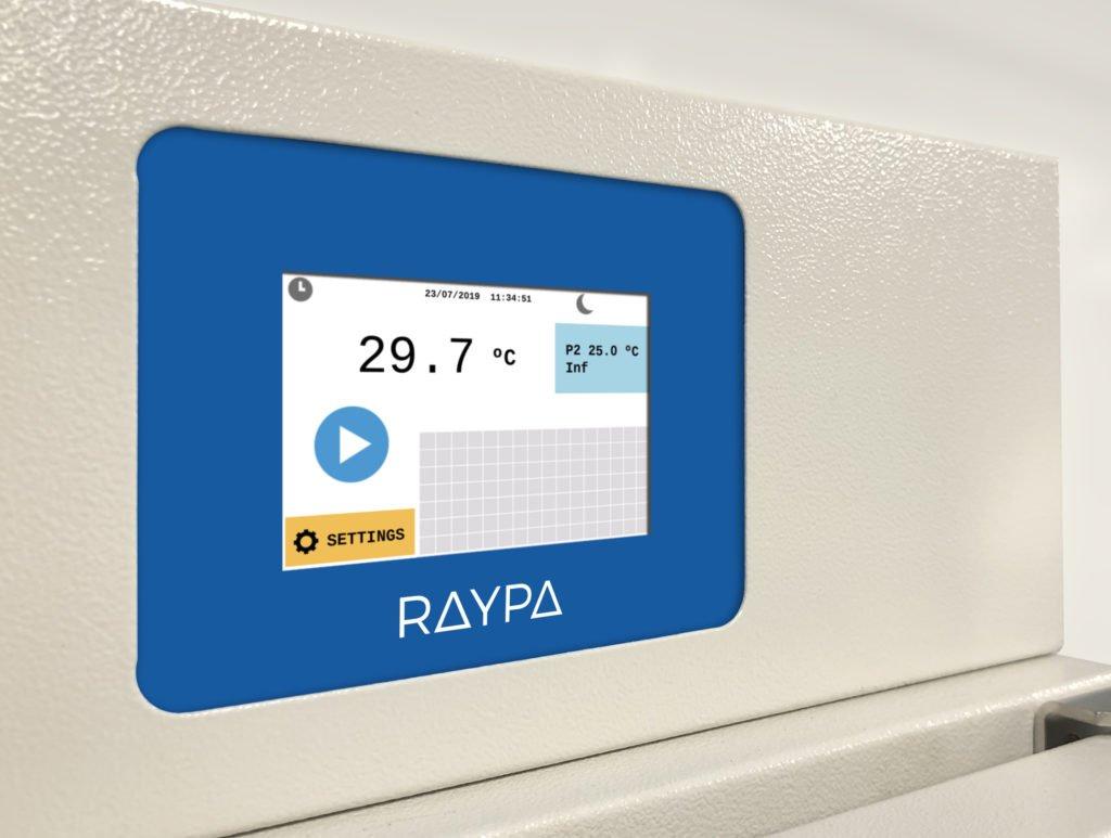Nuevo microprocesador para los equipos de incubación y secado